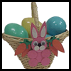 Decorated Easter Basket Crafts Idea