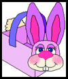 Easter Bunny Basket Crafts Activity