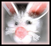 Craft Foam Bunny Bookmark Easter Activity for Kids