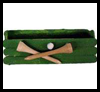 Golf Business Card Holder Father's Day Gift Craft
