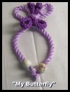 My Butterfly Bookmark Macrame Project for Kids