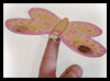 Penny Butterfly Printable Paper Toy Model Craft