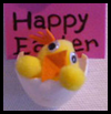 Happy Easter Chick Crafts Activity for Kids