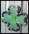 Welcome Shamrock Door Decoration Craft for Kids