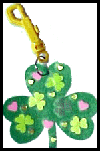 Back Pack Shamrock St. Patricks Day Craft for Kids