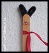 Craft Stick Bunny Crafts Idea