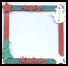 Holiday Picture Frame Craft Activity for Kids