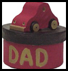 Paper Clip Holder for Dad on Father's Day