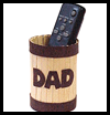 TV Remote Control Holder for Dad