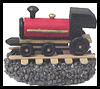 Train Paperweight Father's Day Gift Craft for Kids