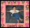 """Daddy's Girl"" Picture Frame"