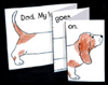 Make a Cute Dog Card for Your Daddy