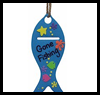 Gone Fishing Door Hanging Father's Day Gift Craft