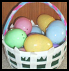 Pretty Easter Basket Crafts Activity for Kids