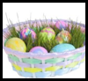 Eggshell Easter Baskets Arts & Crafts Idea
