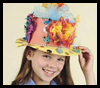 Easter Bonnets Arts & Crafts Activity for Kids