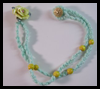 Simple Chain Necklace Macrame Crafts Idea for Children