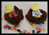 Edible Bird's Nest Crafts Activity for Kids