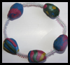 Egg Beads Jewelry Easter Craft for Kids