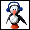 Egg Carton Penguin Craft  : Winter Crafts Activities with Penguins