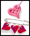 Love Beads Craft for Valentine's Day