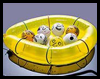 Balloon Platoon Boat Craft for Kids