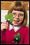 Shamrock Pin Craft for Kids