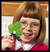 Shamrock Pin Craft for Kids on Saint Patrick's Day