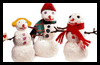 Soapy Snowmen Winter Crafts Idea