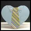 Necktie Father's Day Card Craft for Kids
