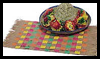 Fiesta Table Decorations Paper Weaving Craft for Kids