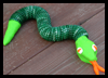 Make a Bottle Cap Snake