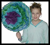 Giant Tissue Paper Flowers Arts & Crafts Project