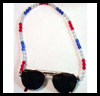 Beaded Sunglasses Holder Craft