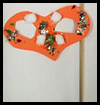 Half Mask Disguises Craft for Kids on Purim