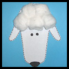 Handprint Lamb Craft Idea