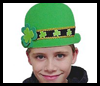 Irish Foamie Derby Hat Craft for St. Patricks Day