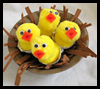 Nest of Hungry Chicks Easter Spring Craft