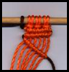 Double Half Hitch Macrame Instructions