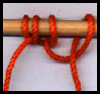 Using the Double Half Hitch to Mount Cords