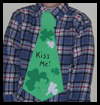 Irish Neck Tie Craft for Kids