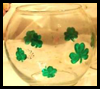 How to Paint a Shamrock Ivy Bowl Craft for Kids