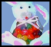 Easter Bunny Jelly Bean Bag Craft Activity