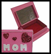 Mom's Mirrored Jewelry Box Craft for Mother's Day