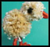 Sunny Pom-Pom Easter Chick Craft