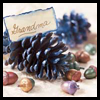 Pinecone Placecards Craft