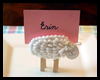 Lamb Craft : Easter Place Name Holder