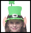 Leprechaun Hat with Ears Craft for Kids