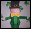 St Patricks Day Leprechaun Craft