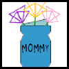 """Mom's Vase"" Handmade Mother's Day Card Craft"